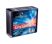 DVD-R TITANUM 4,7GB X8 SLIM CASE 10SZT., Podkategoria, Kategoria
