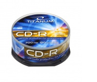 PŁYTY CD-R TITANUM CAKE BOX /25/, Podkategoria, Kategoria