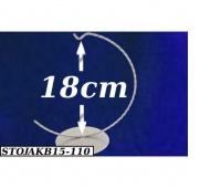 Stojak na bombki,jajka 15cm srebrny, Podkategoria, Kategoria