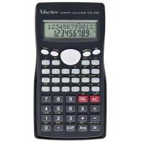 Kalkulator naukowy VECTOR KAV CS-102, 244 funkcji, 84x154mm,czarny