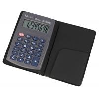 Kalkulator kieszonkowy VECTOR KAV VC-210III, 8- cyfrowy ,64x98,5mm, szary