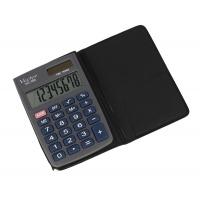 Kalkulator kieszonkowy VECTOR KAV VC-100, 8-cyfrowy, 58x88,5mm, szary
