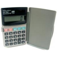 Kalkulator kieszonkowy VECTOR KAV DK-050, 8-cyfrowy, 75x123mm, szary