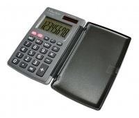 Kalkulator kieszonkowy VECTOR KAV CH-862D, 8-cyfrowy, 62,8x104mm, szary