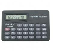 Kalkulator kieszonkowy VECTOR KAV CH-853, 8-cyfrowy,.83x53mm, czarny