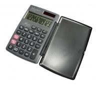 Kalkulator kieszonkowy VECTOR KAV CH-265, 12-cyfrowy, 75x120mm, czarny