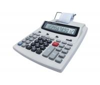 Kalkulator drukujący VECTOR KAV LP-203TS II, 12-cyfrowy, 195x260mm, biały
