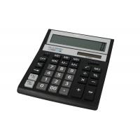 Kalkulator biurowy VECTOR KAV VC-888XBK II, 12-cyfrowy, 158x203mm, czarny, Kalkulatory, Urządzenia i maszyny biurowe