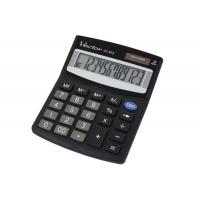 Kalkulator biurowy VECTOR KAV VC-812, 12-cyfrowy, 101x124mm, czarny