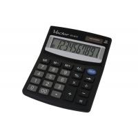 Kalkulator biurowy VECTOR KAV VC-810, 10-cyfrowy, 101x124mm, czarny