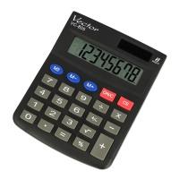 Kalkulator biurowy VECTOR KAV VC-805, 8-cyfrowy, 104x131mm, czarny