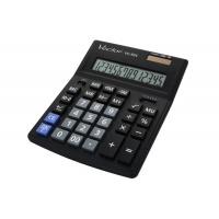 Kalkulator biurowy VECTOR KAV VC-554x, 14-cyfrowy, 153x199mm, czarny