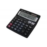 Kalkulator biurowy VECTOR KAV CD-2460, 12-cyfrowy, 138x150mm,czarny