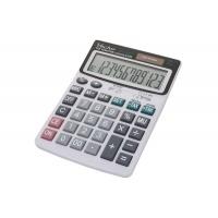 Kalkulator biurowy VECTOR KAV CD-2442T, 12-cyfrowy, 115x165mm, biały