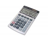 Kalkulator biurowy VECTOR KAV CD-2439, 12-cyfrowy, 105x165mm, szary