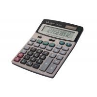 Kalkulator biurowy VECTOR KAV CD-2372, 12-cyfrowy, 135x180mm, szary