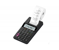 Kalkulator drukujący CASIO HR-8RCE BK BOx, 12-cyfrowy, 102x239mm, czarny