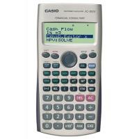 Kalkulator finansowy CASIO FC-100V-S, 4-liniowy wyświetlacz, 80x161mm, szary