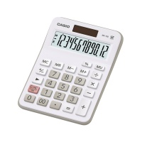 Kalkulator biurowy CASIO Mx-12B-WE, 12-cyfrowy 106,5x147mm, biały