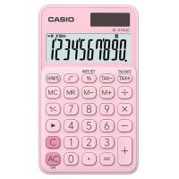 Kalkulator kieszonkowy CASIO SL-310UC-PK-S, 10-cyfrowy, 70x118mm, różowy