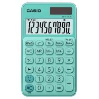 Kalkulator kieszonkowy CASIO SL-310UC-GN-S, 10-cyfrowy, 70x118mm, zielony