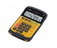 Kalkulator wodoodporny CASIO WM-320MT-S, 12-cyfrowy, 108,5x168,5mm, żółty