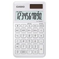 Kalkulator kieszonkowy CASIO SL-1000SC-WE-S, 10-cyfrowy, 71x120mm, biały