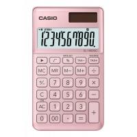 Kalkulator kieszonkowy CASIO SL-1000SC-PK-S, 10-cyfrowy, 71x120mm, różowy