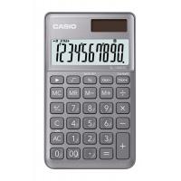 Kalkulator kieszonkowy CASIO SL-1000SC-GY-S, 10-cyfrowy, 71x120mm, szary