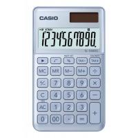 Kalkulator kieszonkowy CASIO SL-1000SC-BU-S, 10-cyfrowy, 71x120mm, niebieski