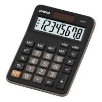 Kalkulator biurowy CASIO Mx-8B-BK, 8-cyfrowy, 106,5x147mm, czarny