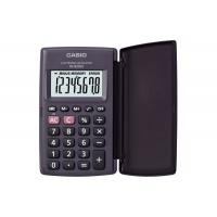 Kalkulator kieszonkowy CASIO HL-820LV-S BK, 8-cyfrowy, 127x104mm, czarny