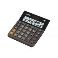 Kalkulator biurowy CASIO MH-12BK-S, 12-cyfrowy, 127x136,5mm, czarny