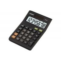 Kalkulator biurowy CASIO MS-8B-S, 8-cyfrowy, 103x147mm, czarny