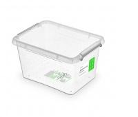 Pojemnik antybakteryjny ORPLAST Antibacterial 2,0l, transparentny, Pudła, Wyposażenie biura