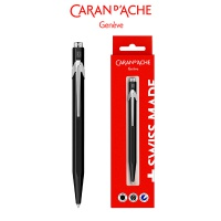 Długopis CARAN D'ACHE 849 Gift Box Black, czarny, Długopisy, Artykuły do pisania i korygowania