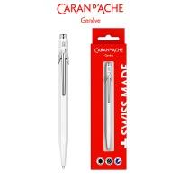 Długopis CARAN D'ACHE 849 Gift Box White, biały, Długopisy, Artykuły do pisania i korygowania