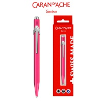 Długopis CARAN D'ACHE 849 Gift Box Fluo Line Pink, różowy, Długopisy, Artykuły do pisania i korygowania