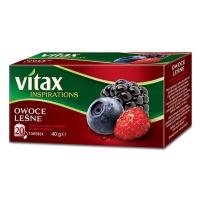 Herbata VITAX INSPIRATIONS, OWOCE LEŚNE, 20 torebek, Herbaty, Artykuły spożywcze