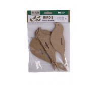 ZESTAW KSZTAŁTÓW TEKTUROWYCH BIRDS 12X6CM 5szt.HC, Podkategoria, Kategoria