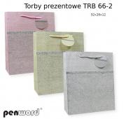 TORBA PREZENTOWA TRB 66-2 32X26X12CM, Podkategoria, Kategoria