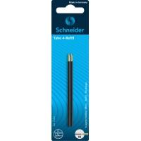 Wkład do długopisów SCHNEIDER TAKE 4, M, 2szt., blister, czarny, Długopisy, Artykuły do pisania i korygowania