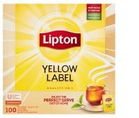 Herbata LIPTON Yellow Label, 100 kopert, Herbaty, Artykuły spożywcze