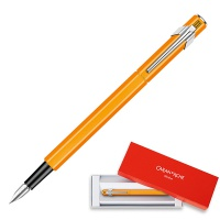 Pióro wieczne CARAN D'ACHE 849 Fluo Line, M, pomarańczowe, Pióra, Artykuły do pisania i korygowania