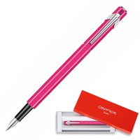 Pióro wieczne CARAN D'ACHE 849 Fluo Line, M, różowe, Pióra, Artykuły do pisania i korygowania