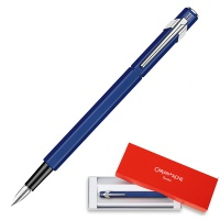 Pióro wieczne CARAN D'ACHE 849, M, niebieskie, Pióra, Artykuły do pisania i korygowania