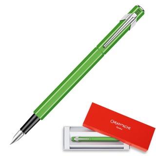 Pióro wieczne CARAN D'ACHE 849 Fluo Line, F, zielone, Pióra, Artykuły do pisania i korygowania