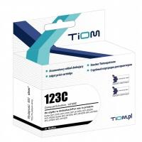 Tusz Tiom do Brother 123C | LC123C | 600 str. | cyan, Tusze TIOM, Tusze