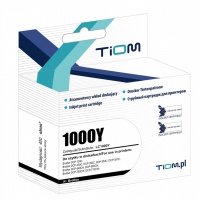 Tusz Tiom do Brother 1000Y | LC1000Y | 400 str. | yellow, Tusze TIOM, Tusze