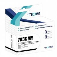 Tusz Tiom do HP 703CMY | CD888AE | 250 str. | color, Tusze TIOM, Tusze